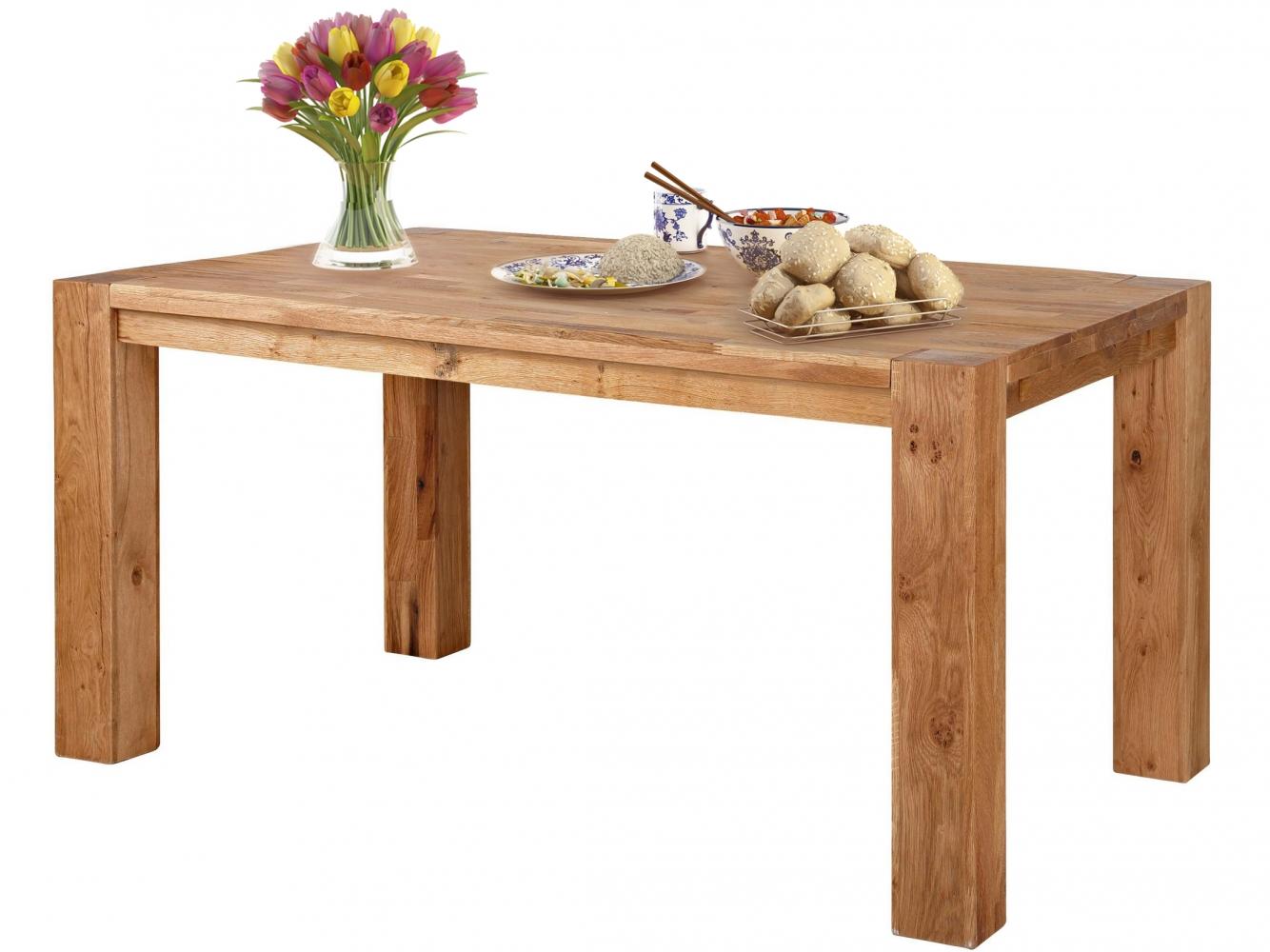 Jídelní stůl Elan, 160 cm, dub