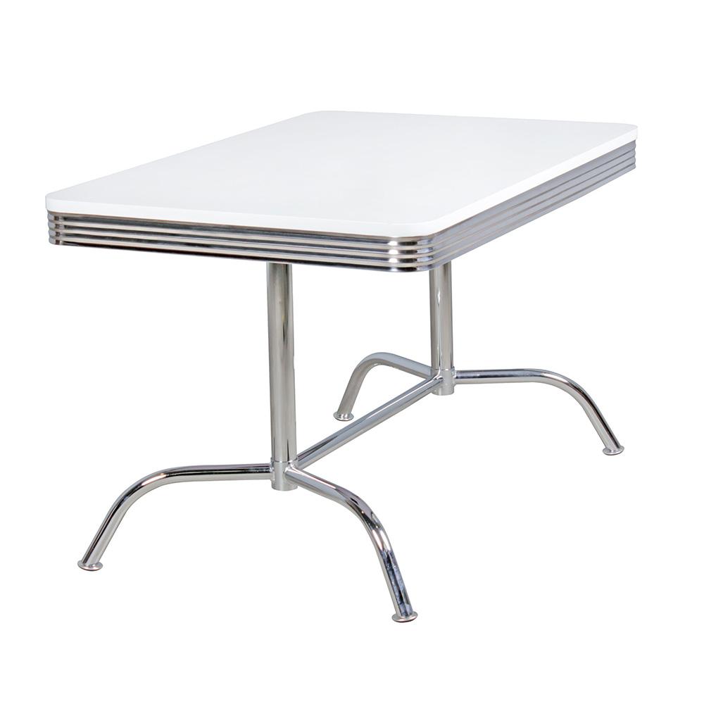 Jídelní stůl Elvis 2, 120 cm, bílá