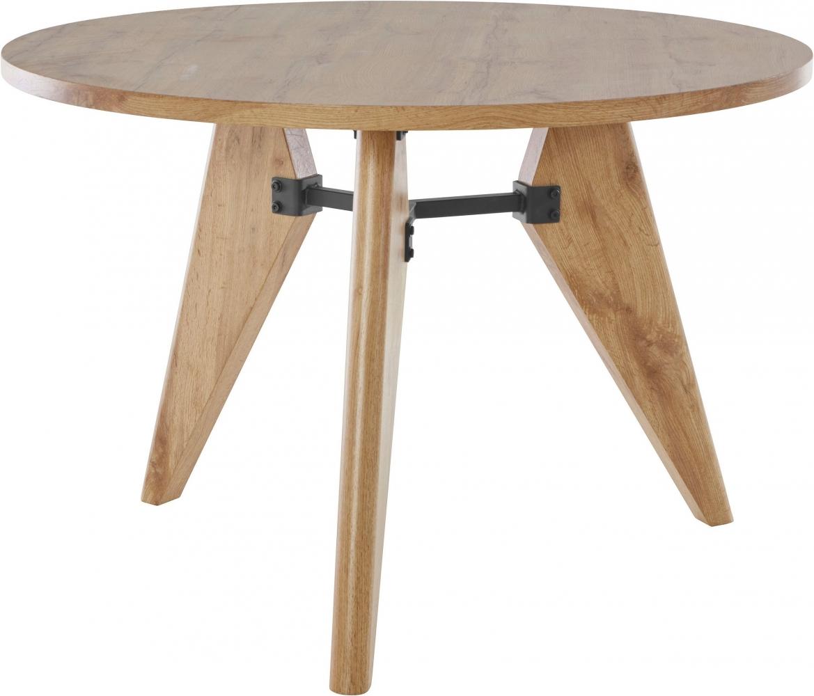 Jídelní stůl Even, 110 cm, přírodní dřevo