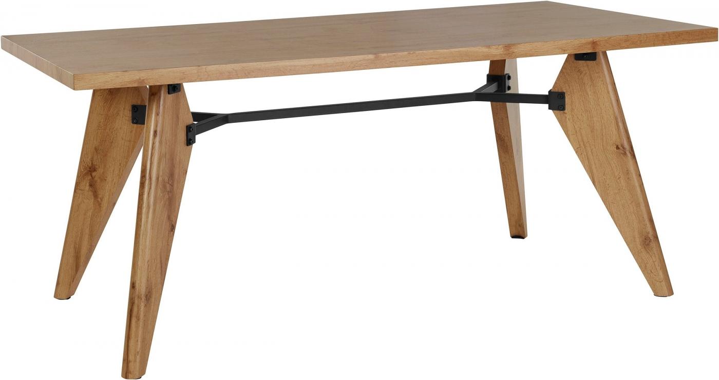 Jídelní stůl Even, 160 cm, přírodní dřevo