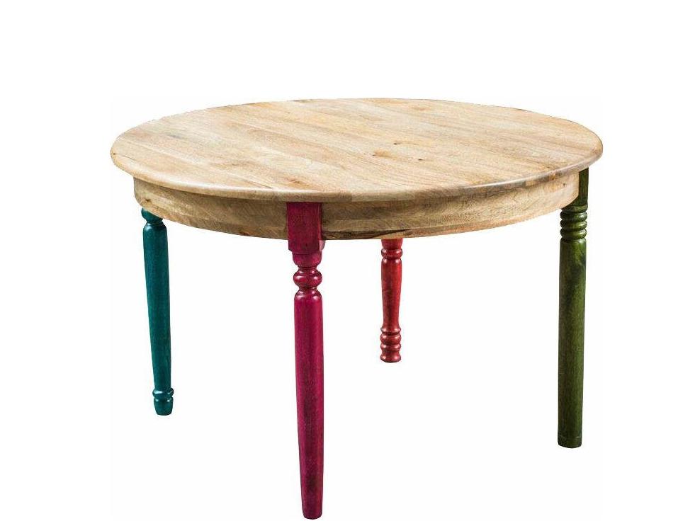 Jídelní stůl Flip, 76 cm, masivní mango