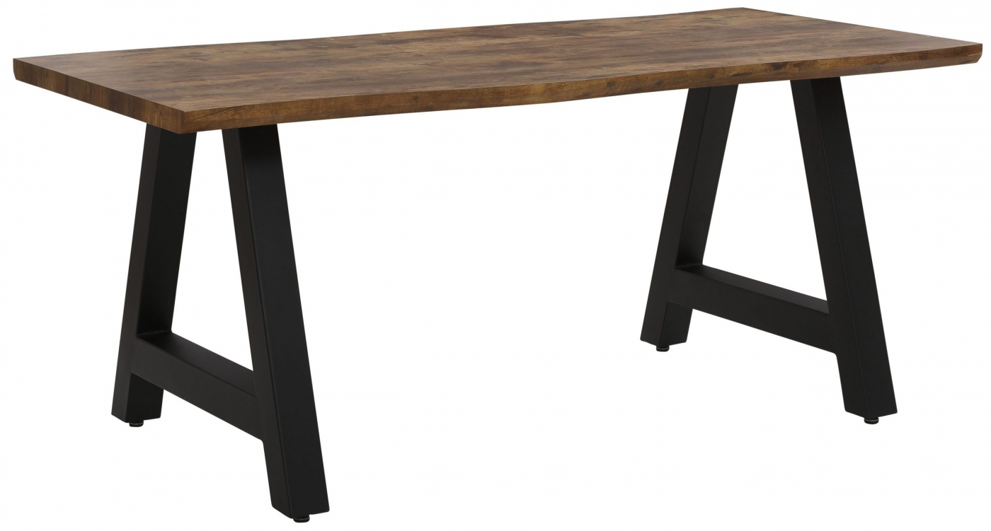 Jídelní stůl Flor, 180 cm, hnědá