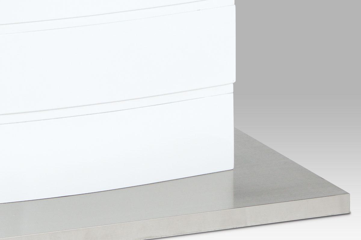 Jídelní stůl Glen, 140 cm, bílá