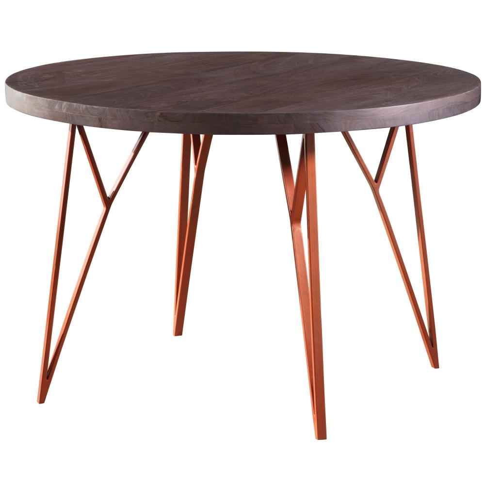 Jídelní stůl Herry, 118 cm, masiv akát