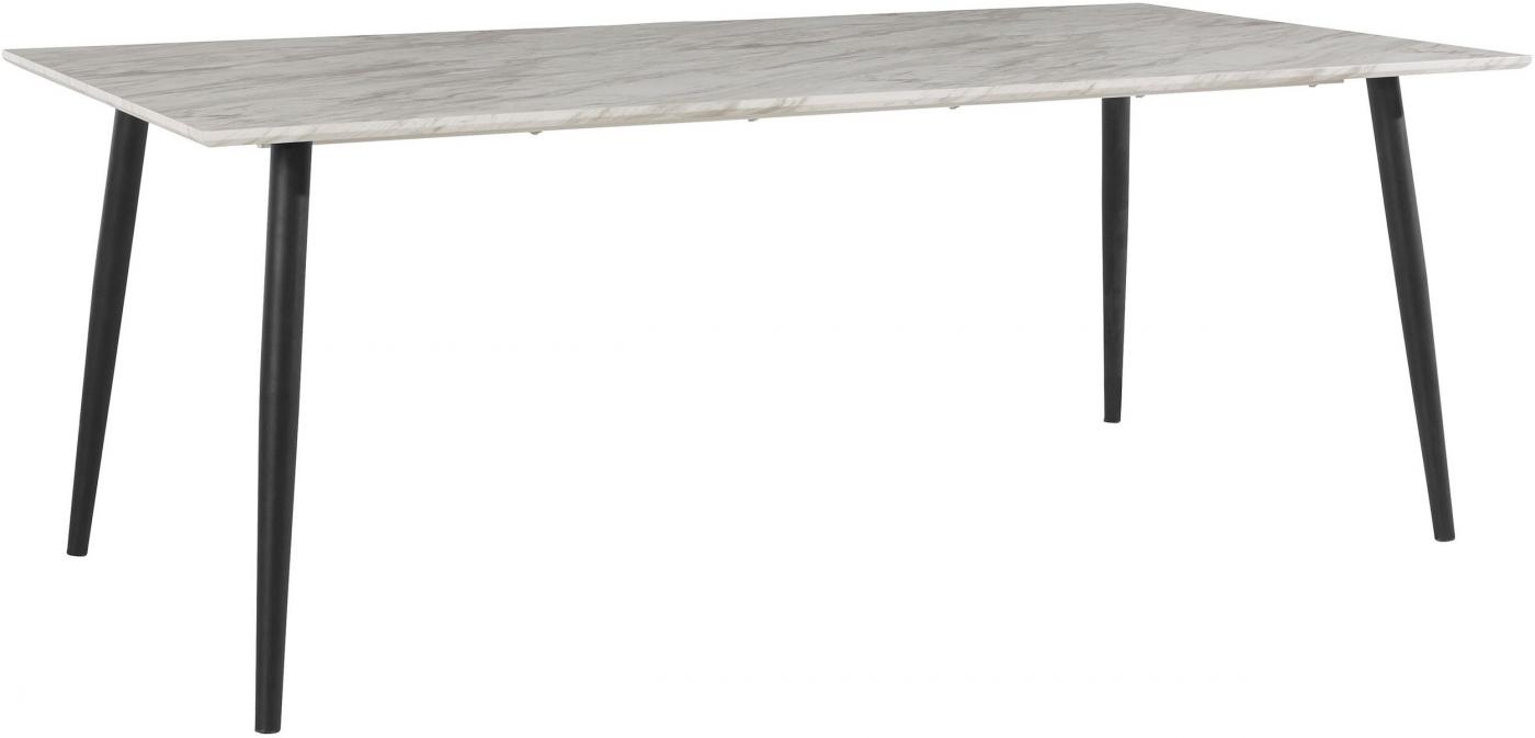 Jídelní stůl Hulin, 160 cm, mramor