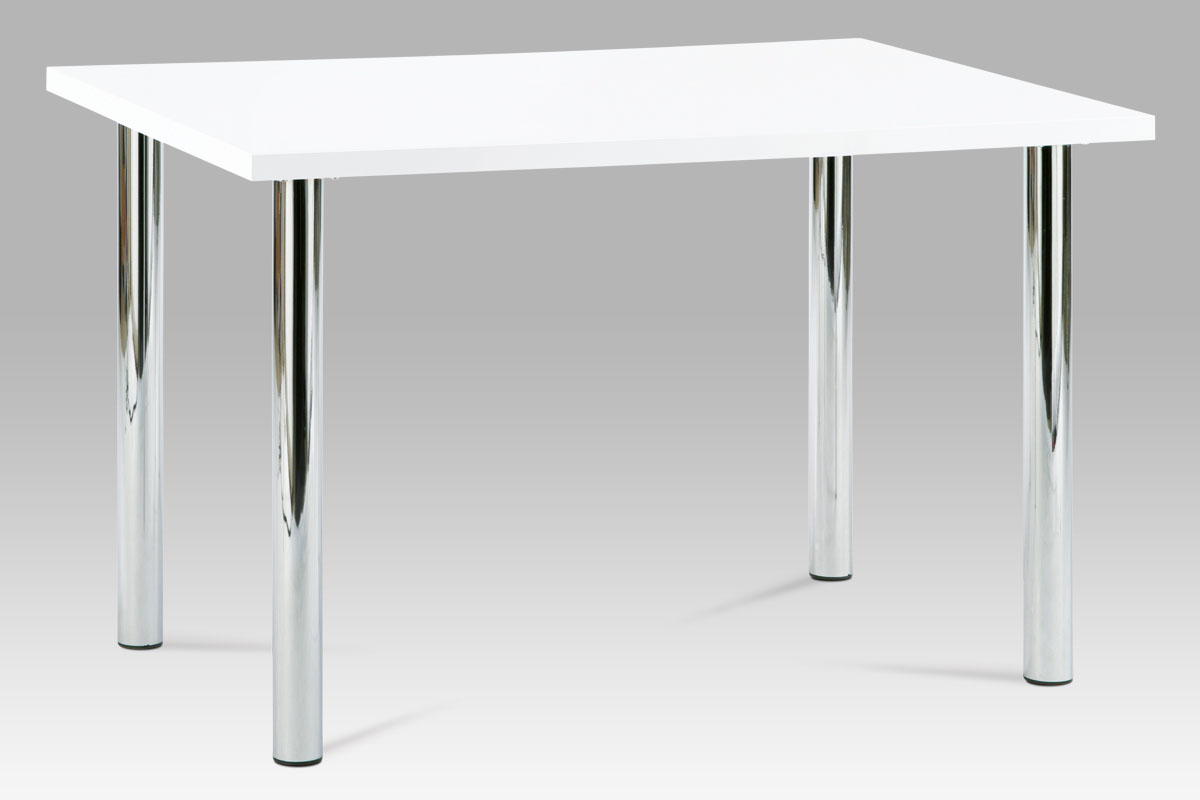 Jídelní stůl Jadon, 120 cm, bílá