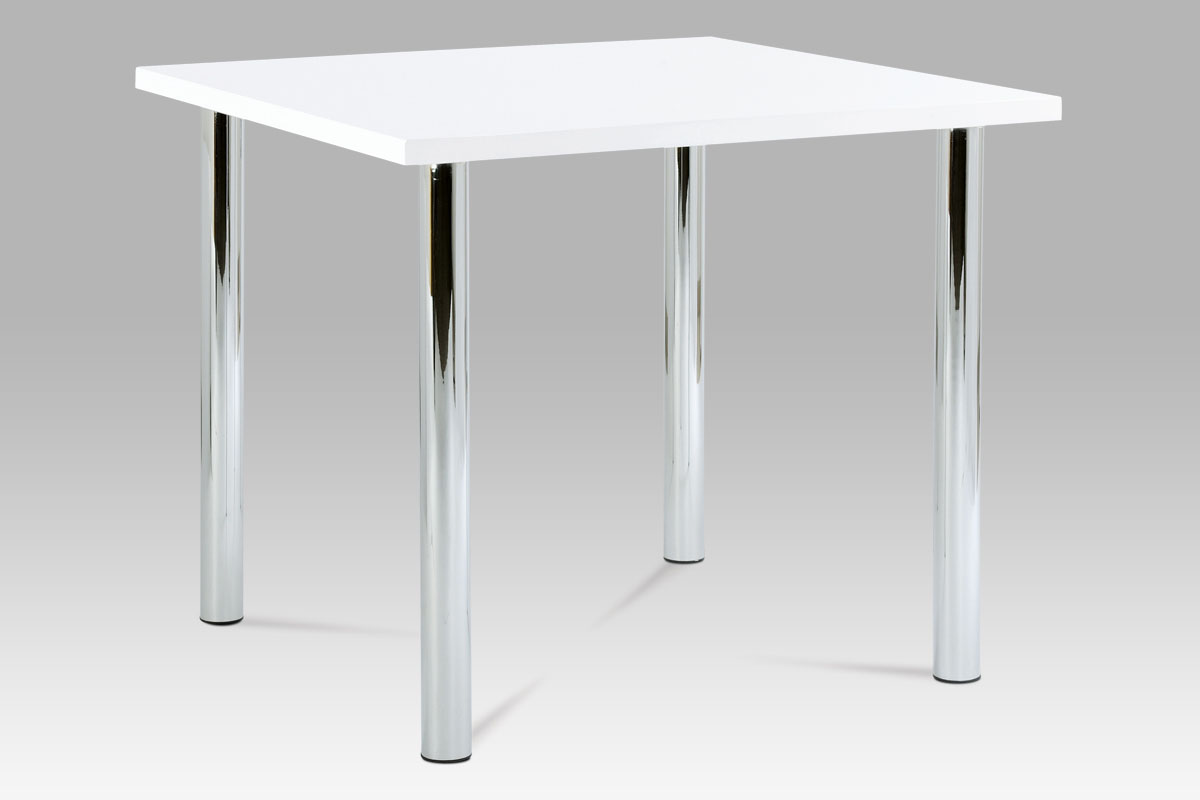 Jídelní stůl Jadon, 90 cm, bílá
