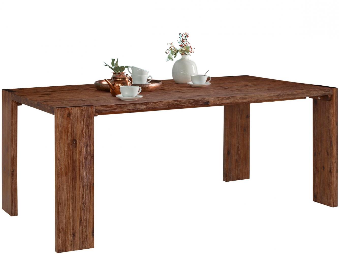Jídelní stůl Jima, 180 cm, hnědá