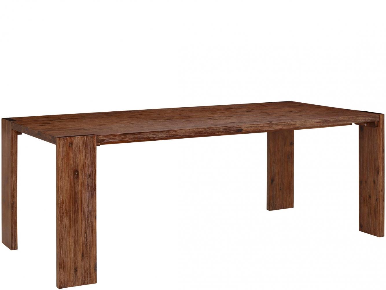 Jídelní stůl Jima, 220 cm, hnědá