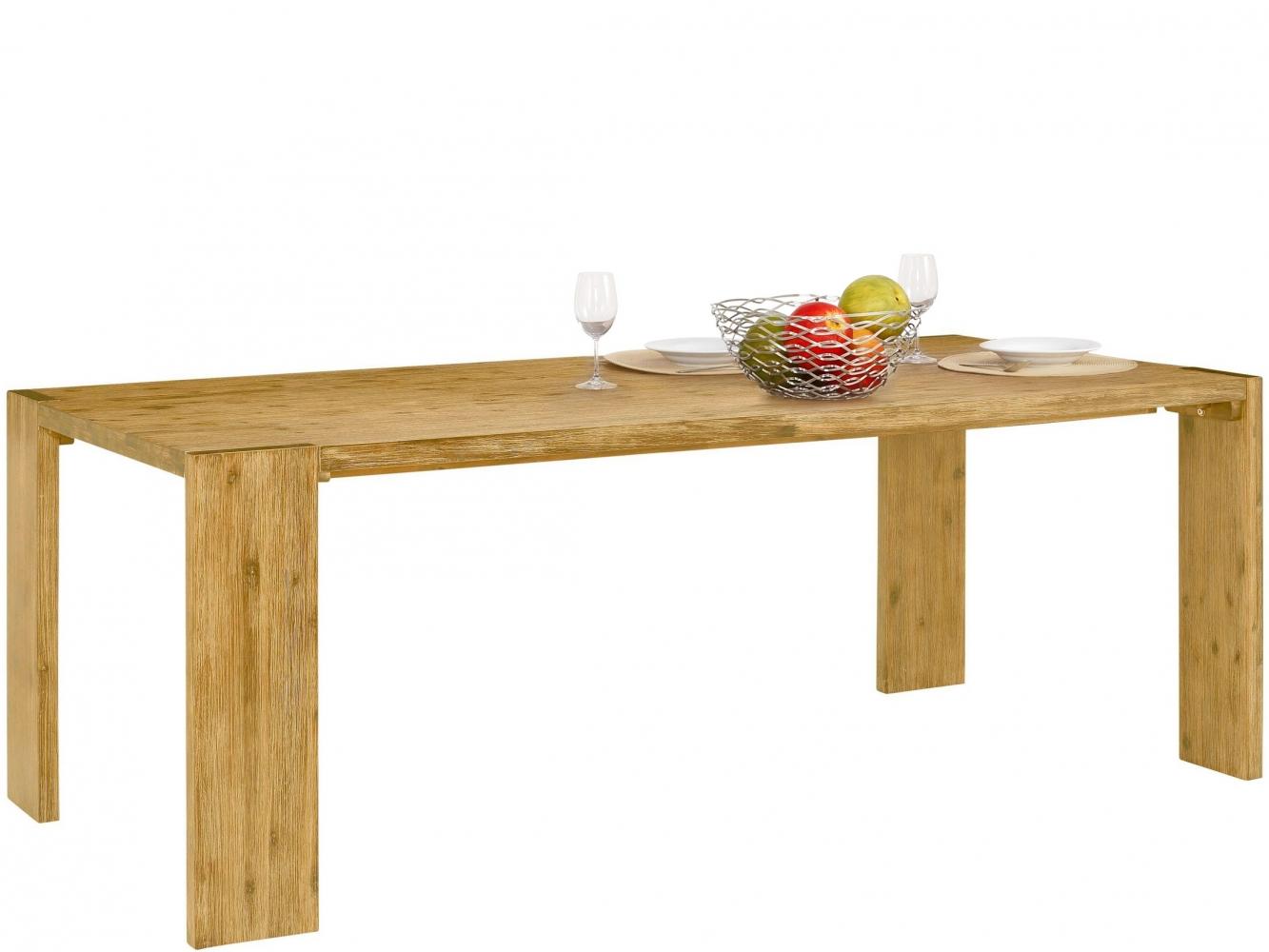 Jídelní stůl Jima, 220 cm, masivní akát