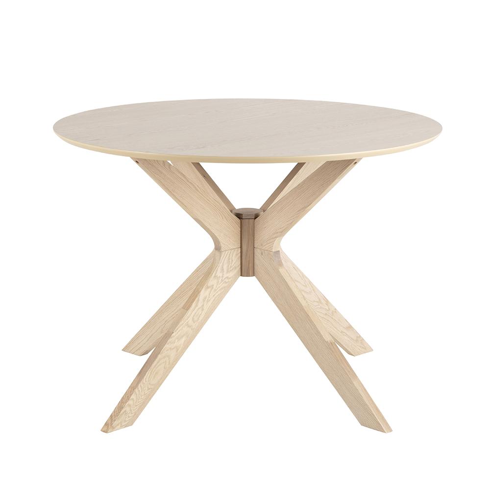 Jídelní stůl kulatý Eden, 105 cm, dub