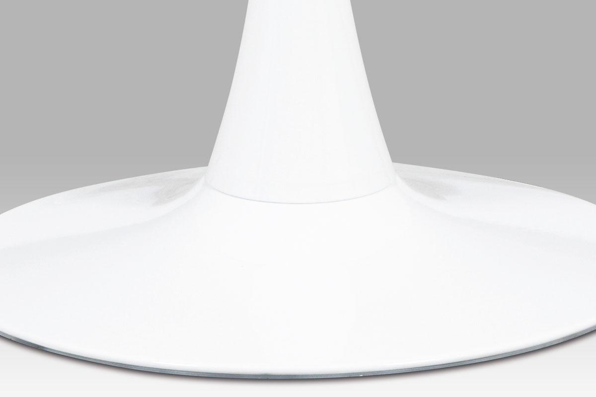 Jídelní stůl kulatý Klaudia, 60 cm, bílá