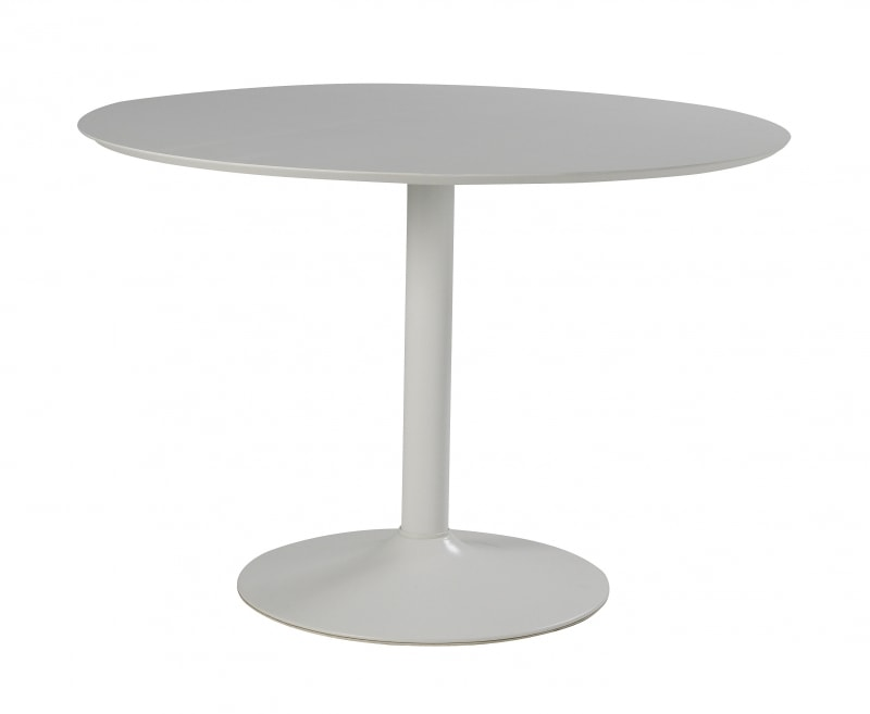 Bílý kulatý stůl Ronny 110 cm, skladem