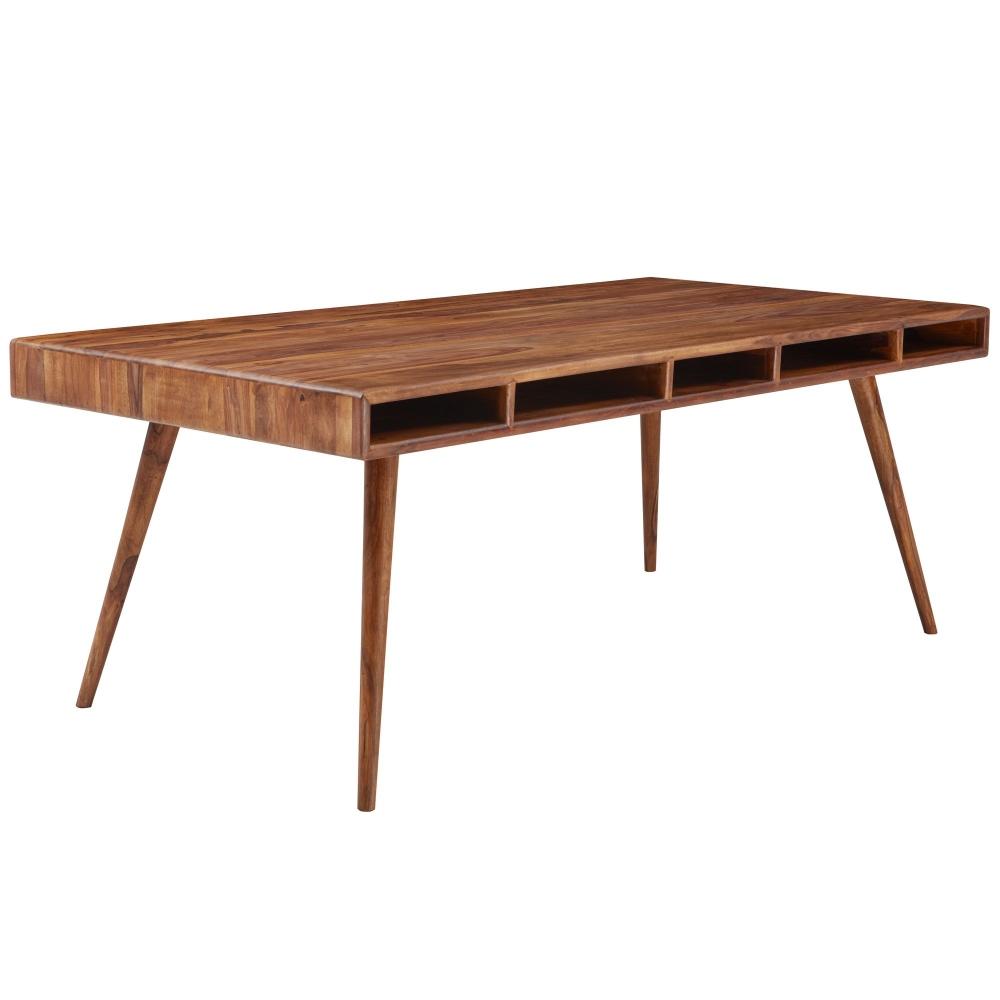 Jídelní stůl Lenny, 200 cm, masiv Sheesham