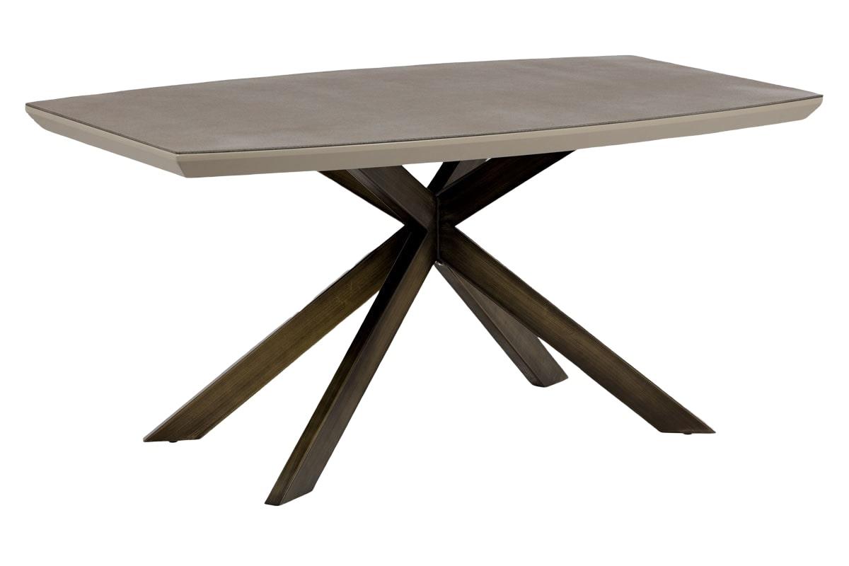 Jídelní stůl Lincoln, 160 cm, lanýžová