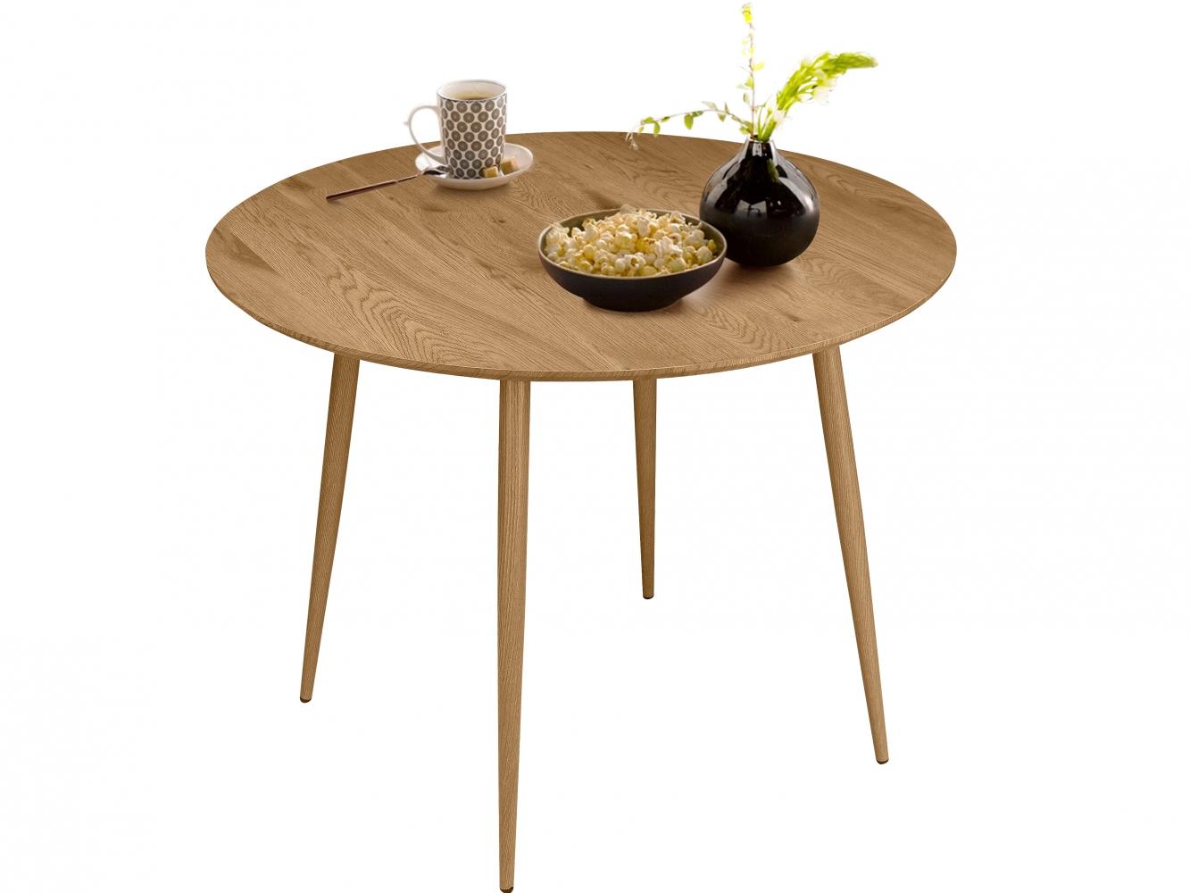 Jídelní stůl Lion, 100 cm, dub