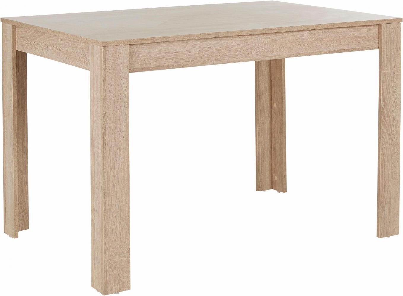 Jídelní stůl Lora, 120 cm, dub