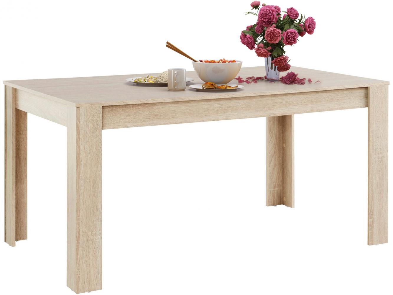 Jídelní stůl Lora, 160 cm, dub