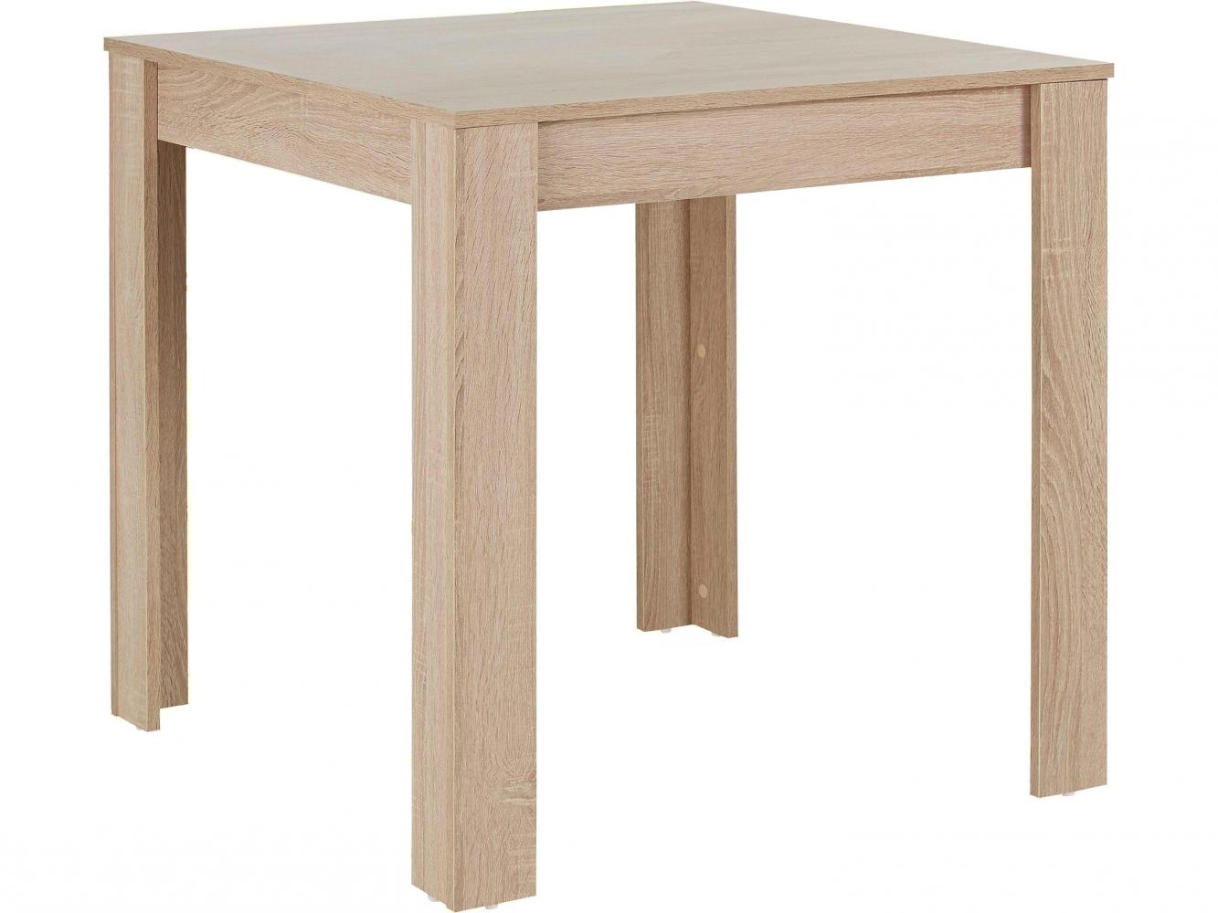 Jídelní stůl Lora, 80 cm, dub
