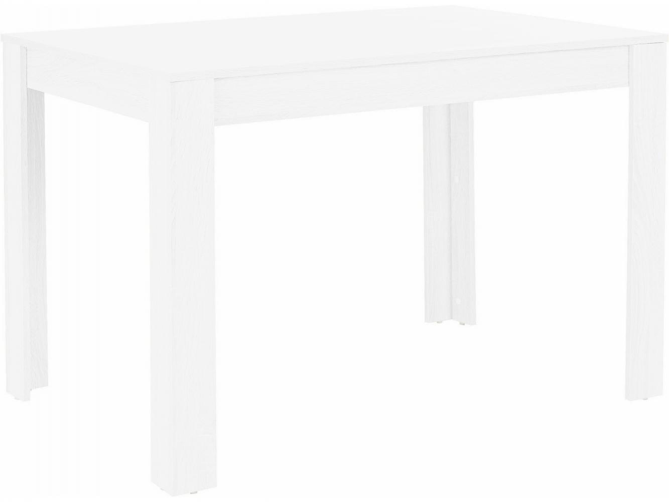 Jídelní stůl Lora I., 120 cm, bílá