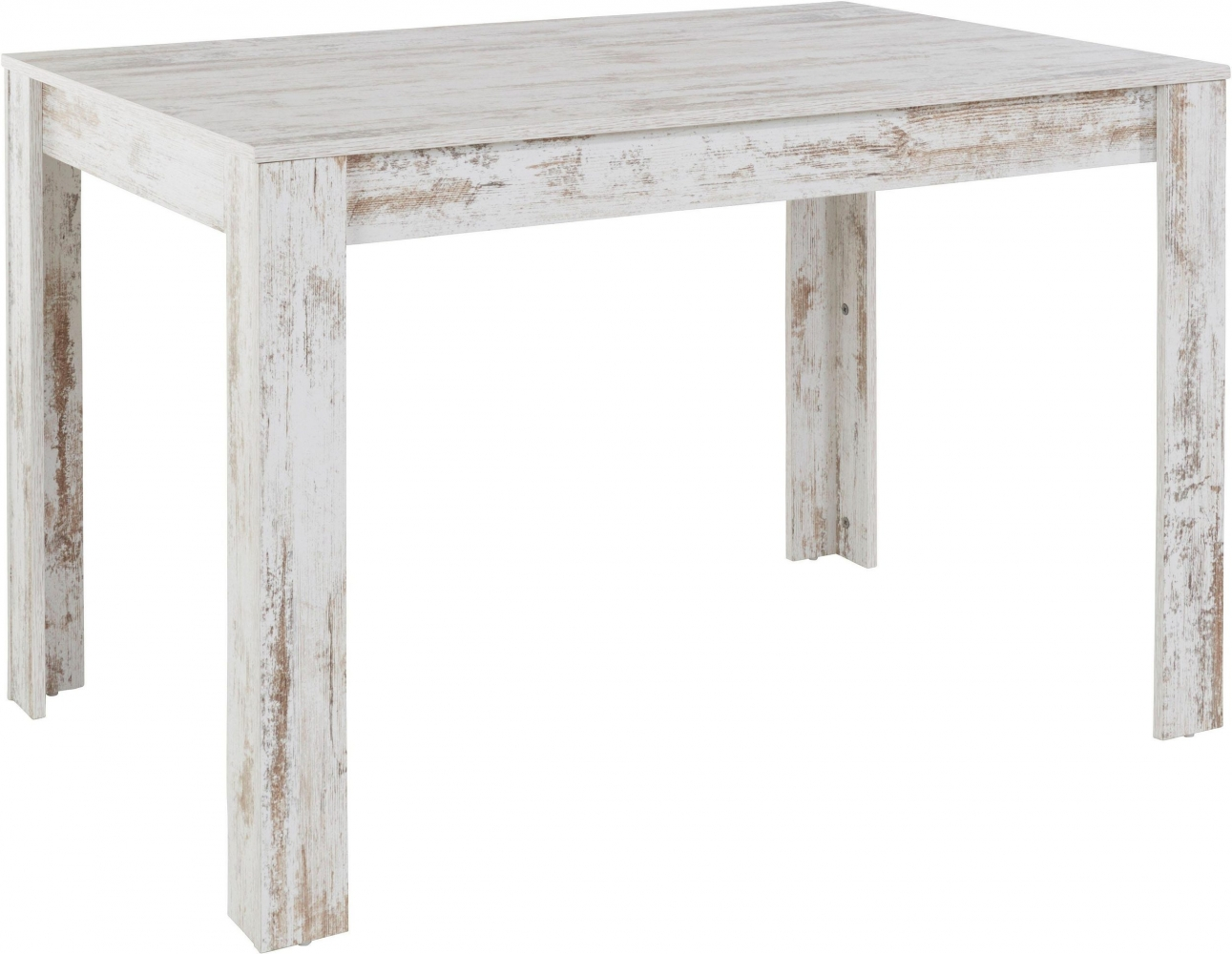 Jídelní stůl Lora II., 120 cm, bílá