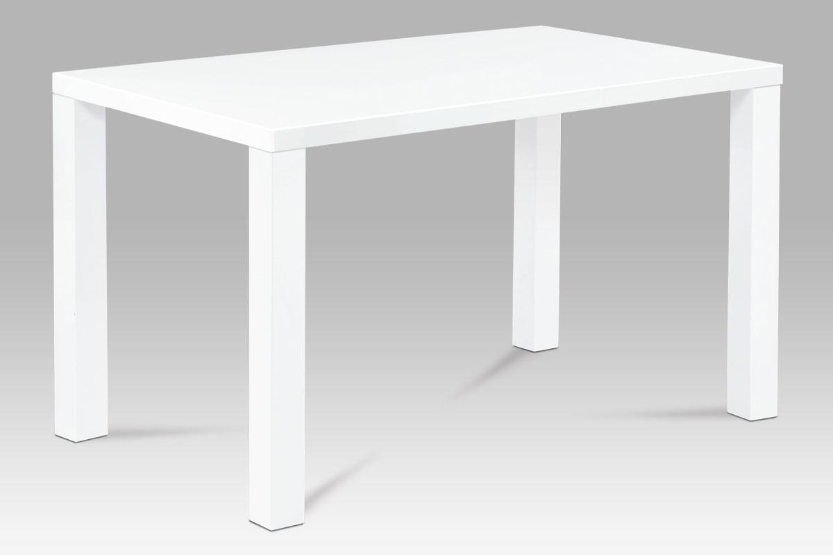 Jídelní stůl Lucia, 120 cm, bílá