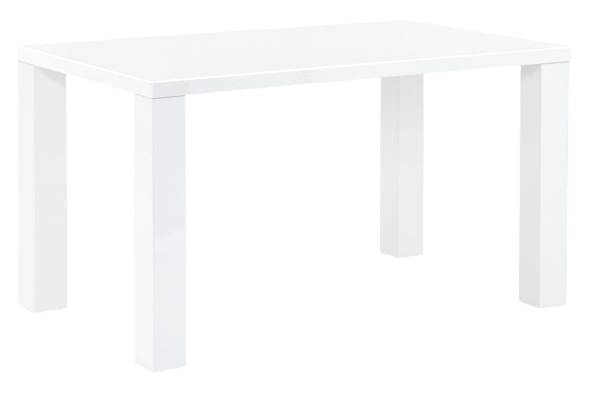 Jídelní stůl Lucia, 135 cm, bílá