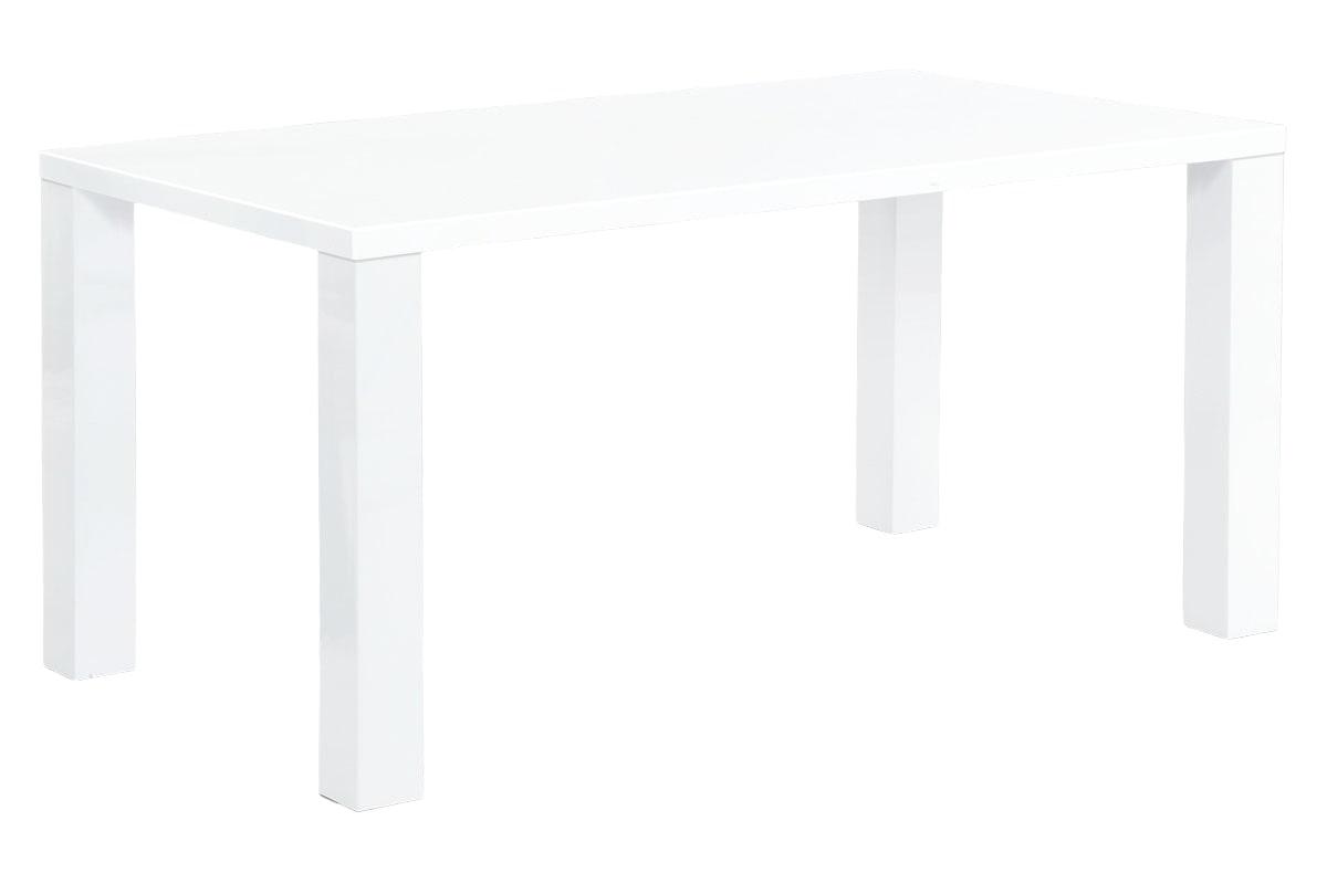 Jídelní stůl Lucia, 160 cm, bílá