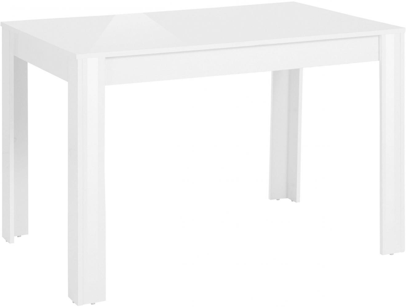 Jídelní stůl Lynet, 120 cm, bílá