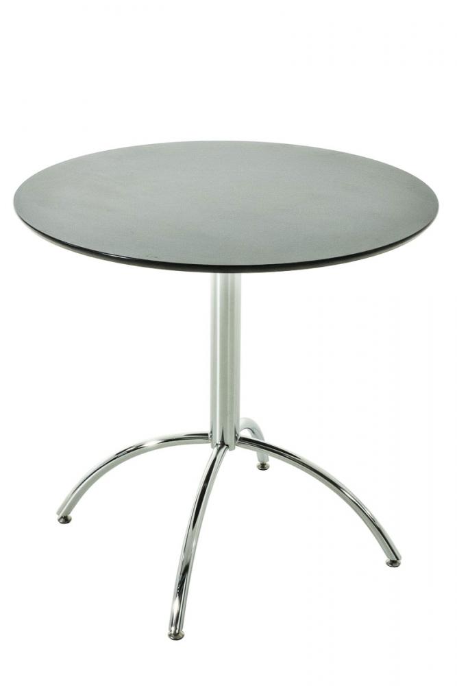 Jídelní stůl Marshal, ? 80 cm, černá