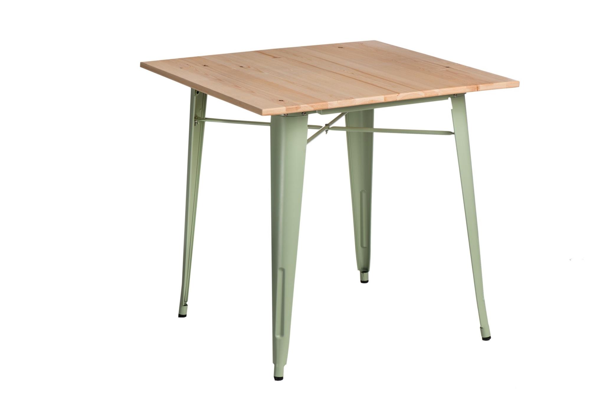 Jídelní stůl Mason 76 cm, světlé dřevo