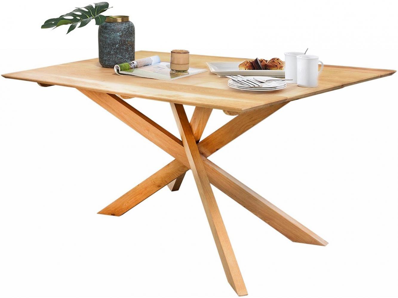 Jídelní stůl Monte, 180 cm, masivní mango