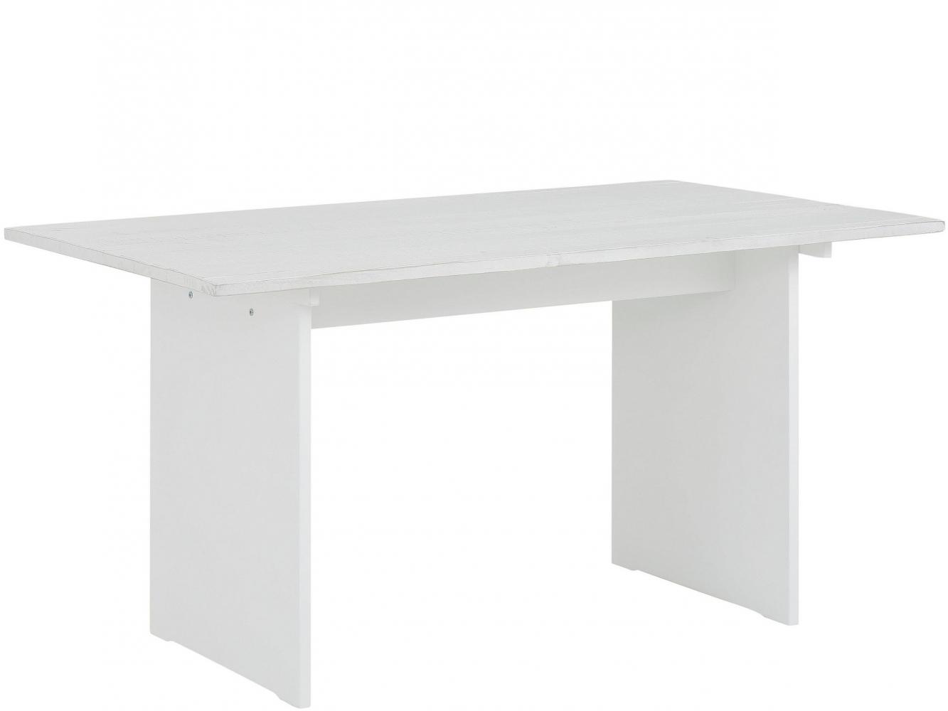 Jídelní stůl Morgen, 140 cm, bílá