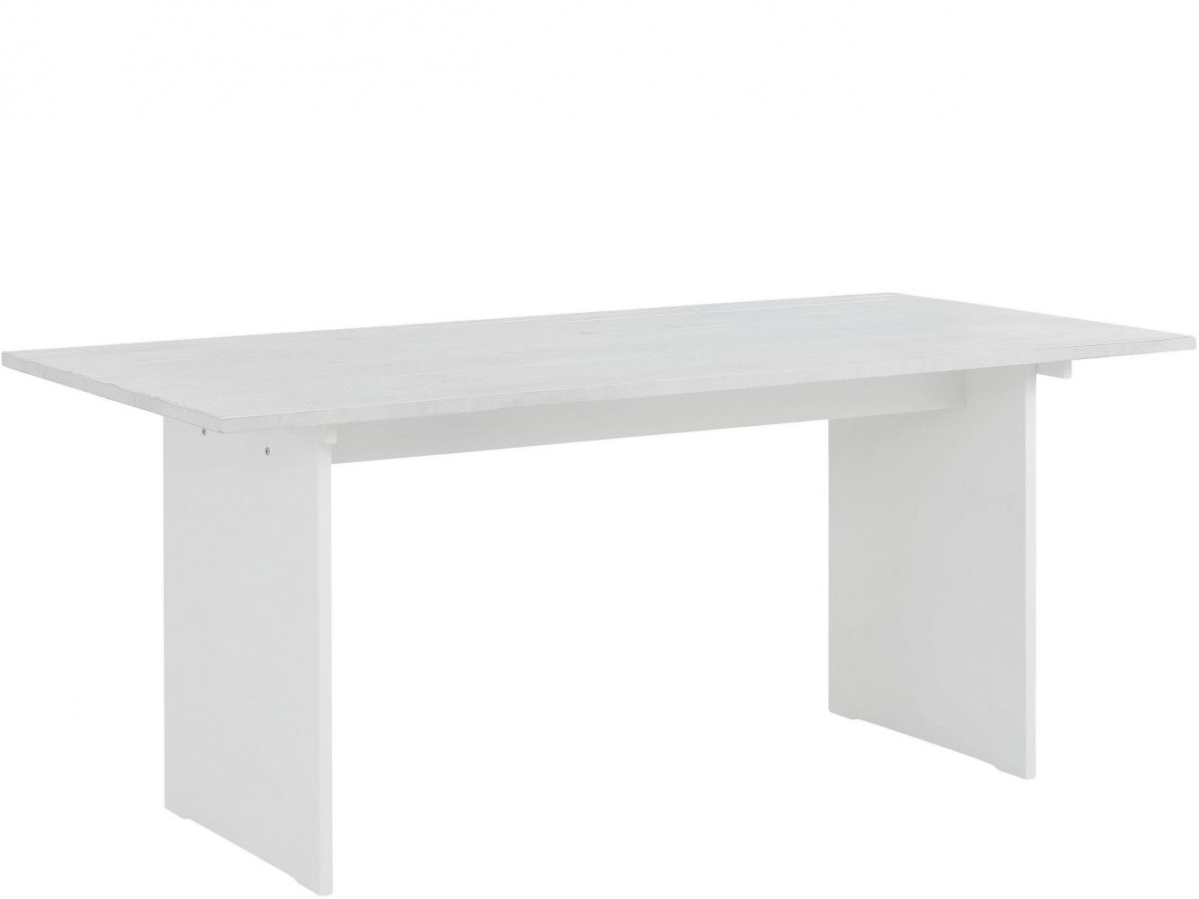 Jídelní stůl Morgen, 180 cm, bílá