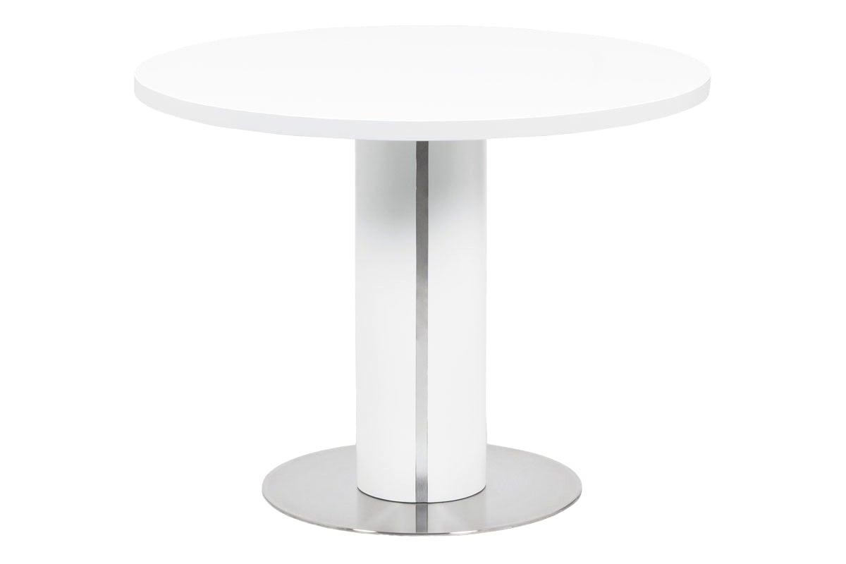 Jídelní stůl Newark, 100 cm, bílá