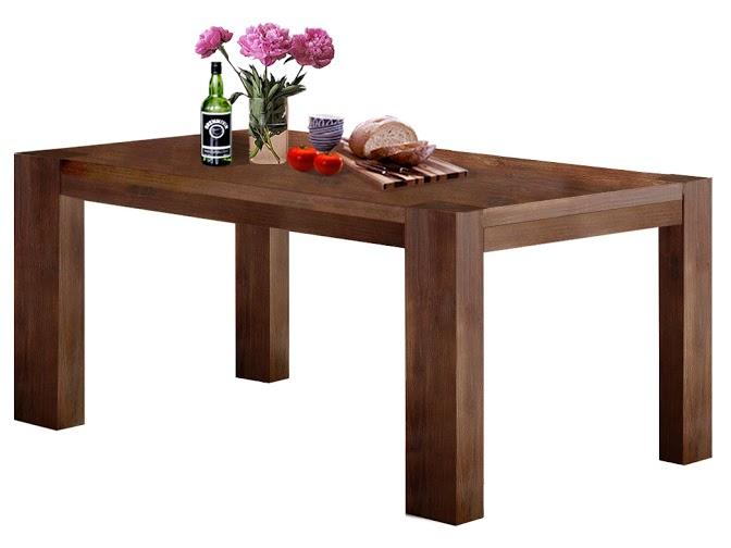 Jídelní stůl Niel, 180 cm, hnědá