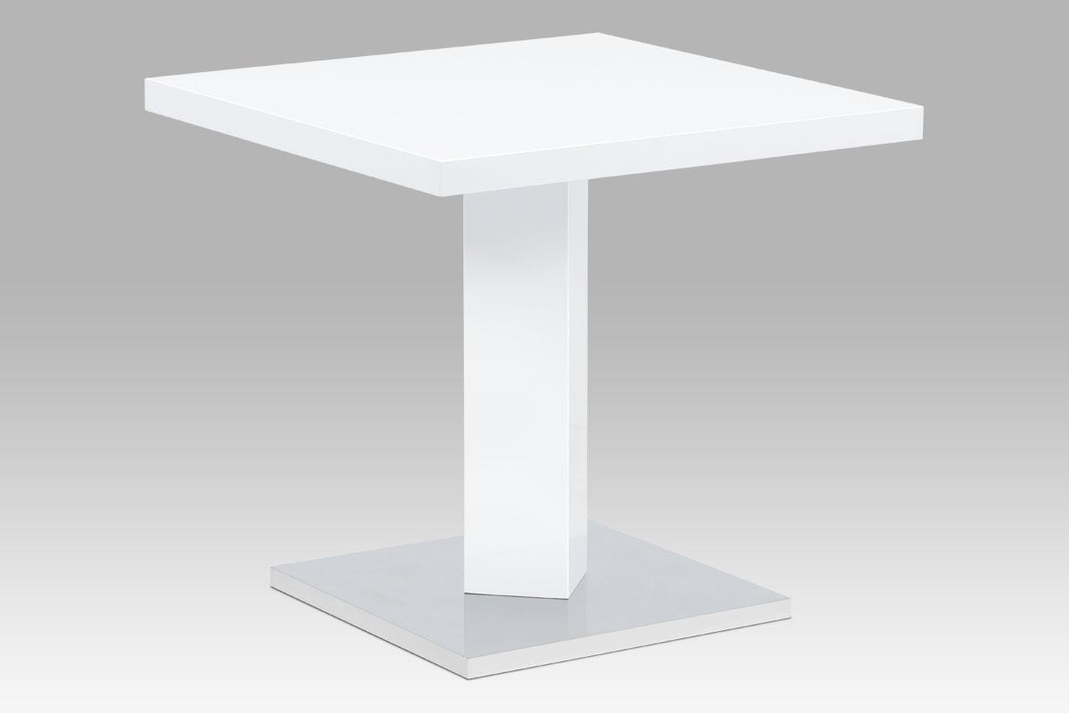 Jídelní stůl Nikolas, 80 cm, bílá