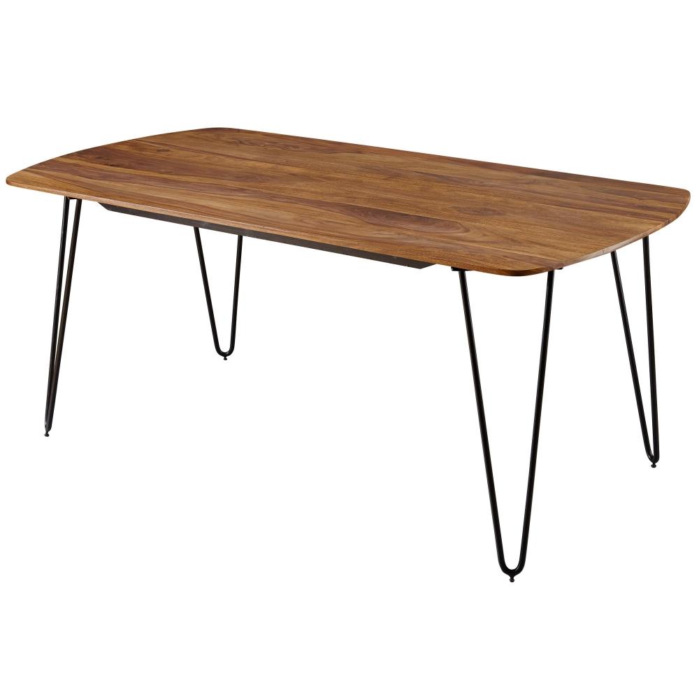 Jídelní stůl Nora, 180 cm, masiv Sheesham