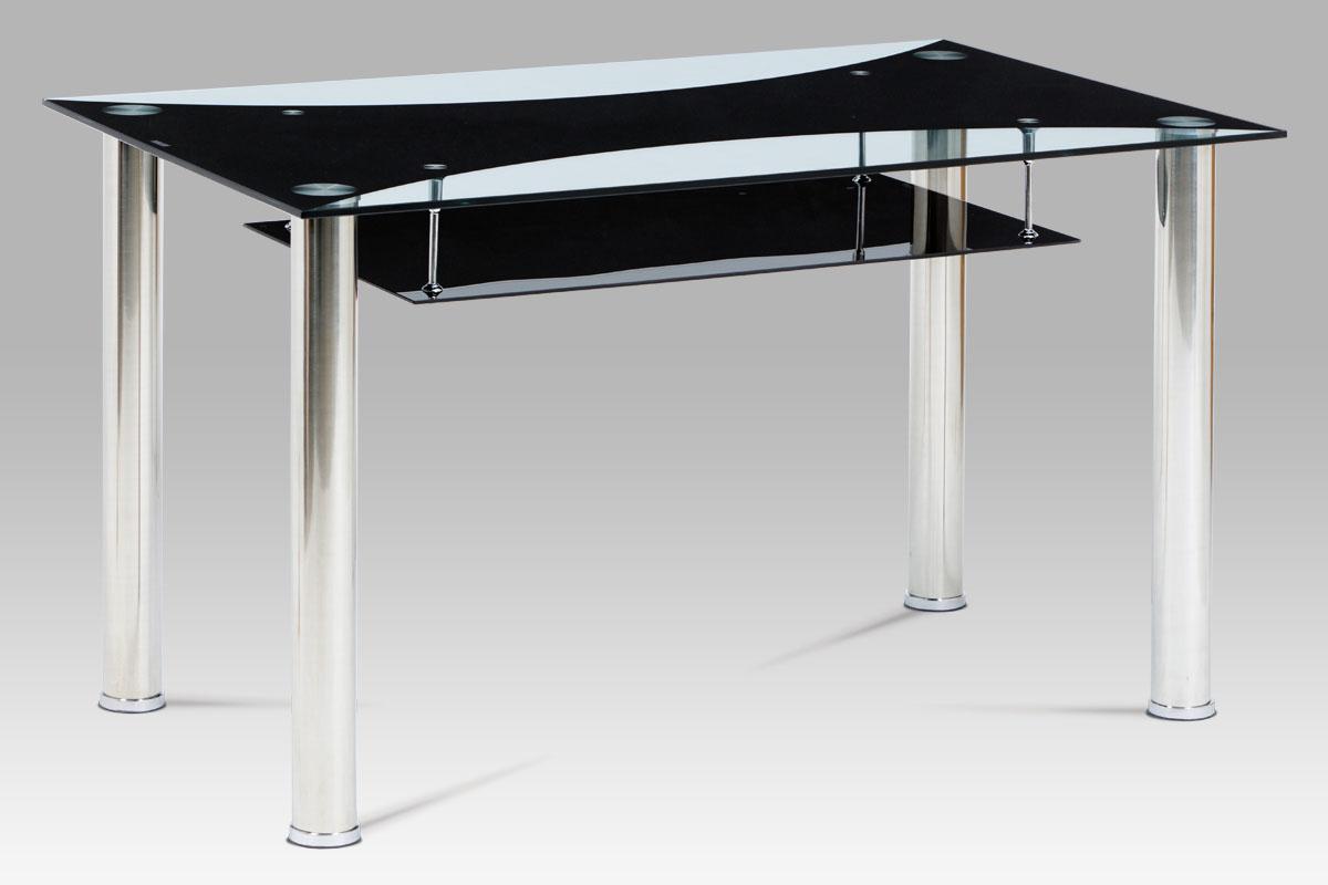Jídelní stůl Oakland, 130 cm, černá