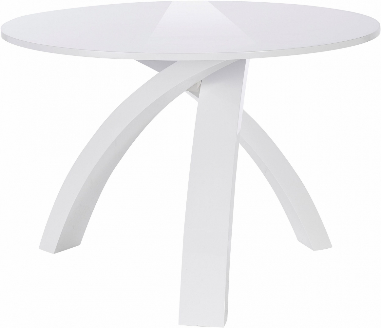 Jídelní stůl Oman, 110 cm, bílá