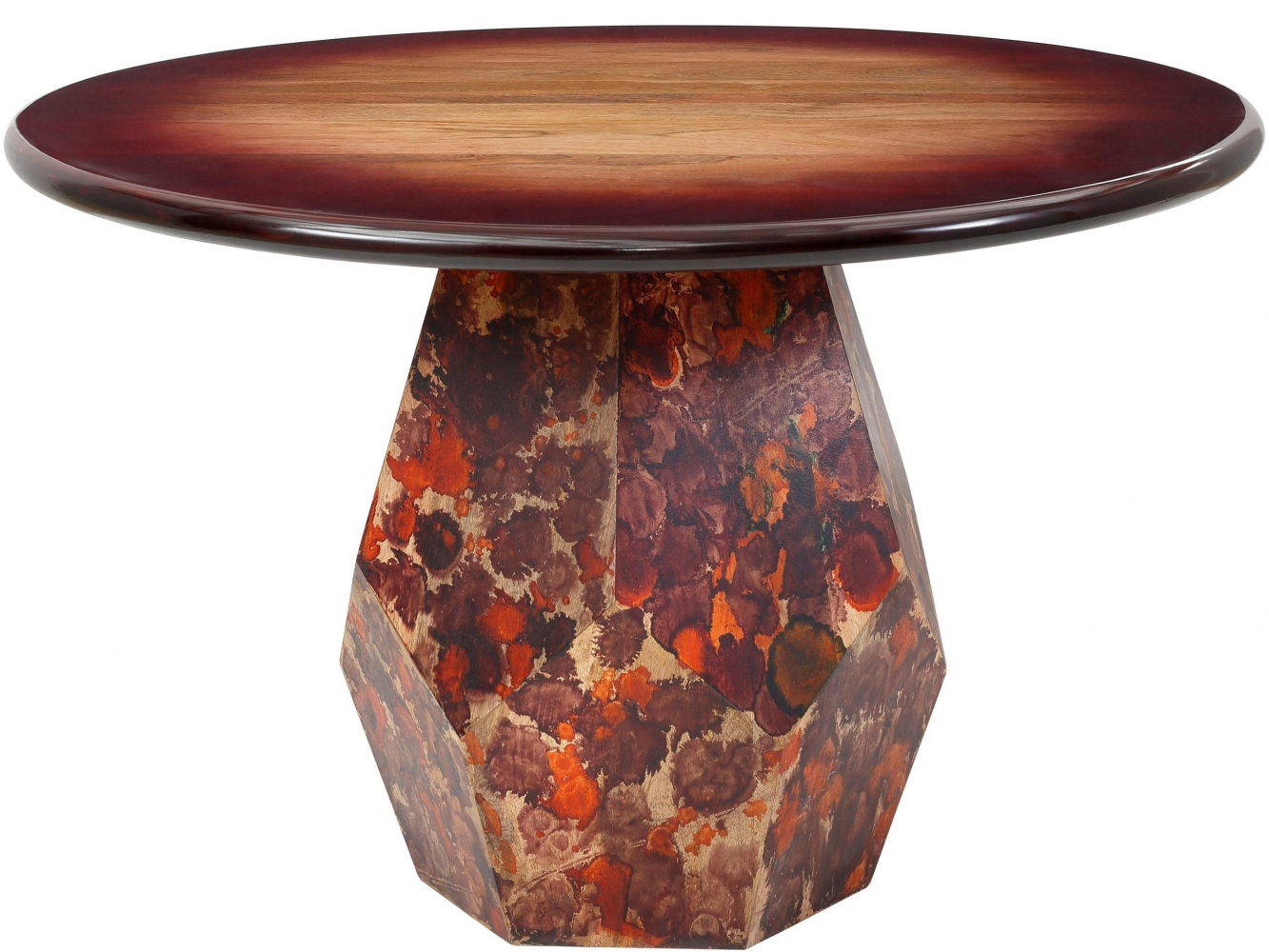Jídelní stůl Ony, 120 cm, masivní mango