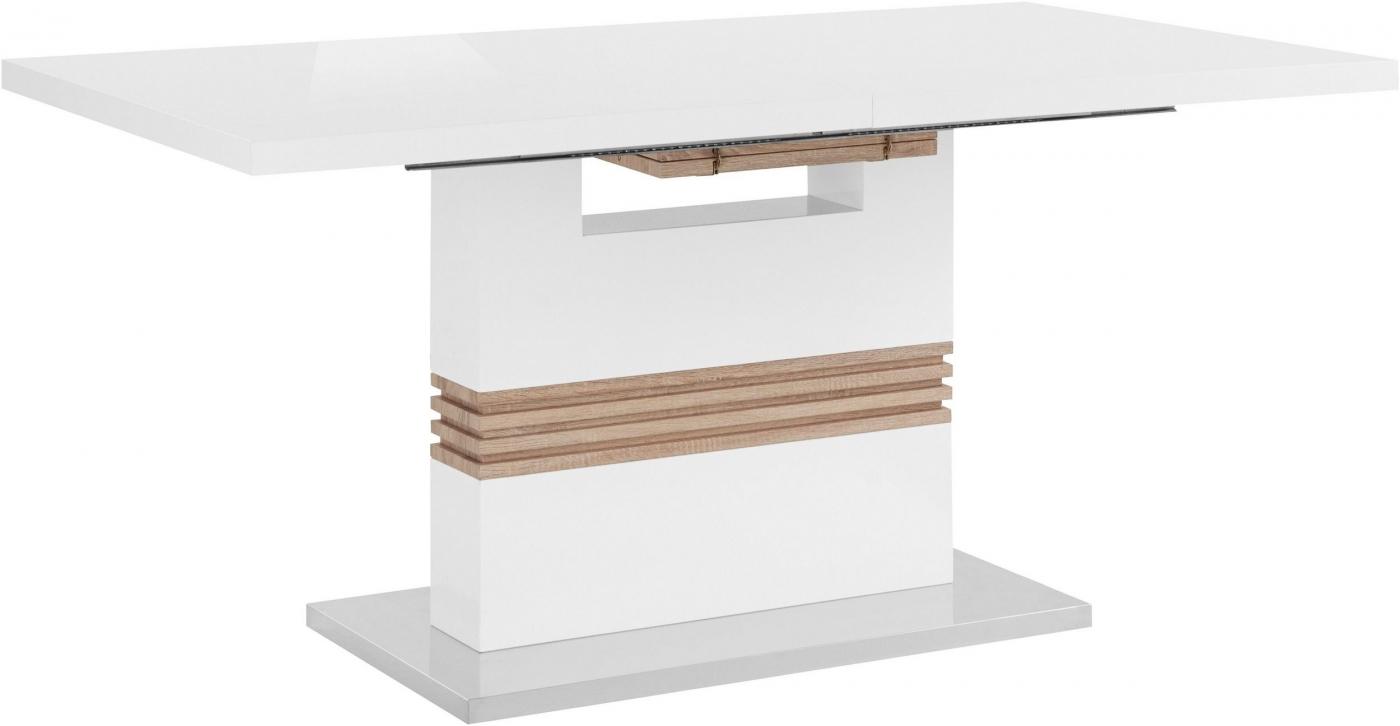 Jídelní stůl Pavlo, 200 cm, bílá