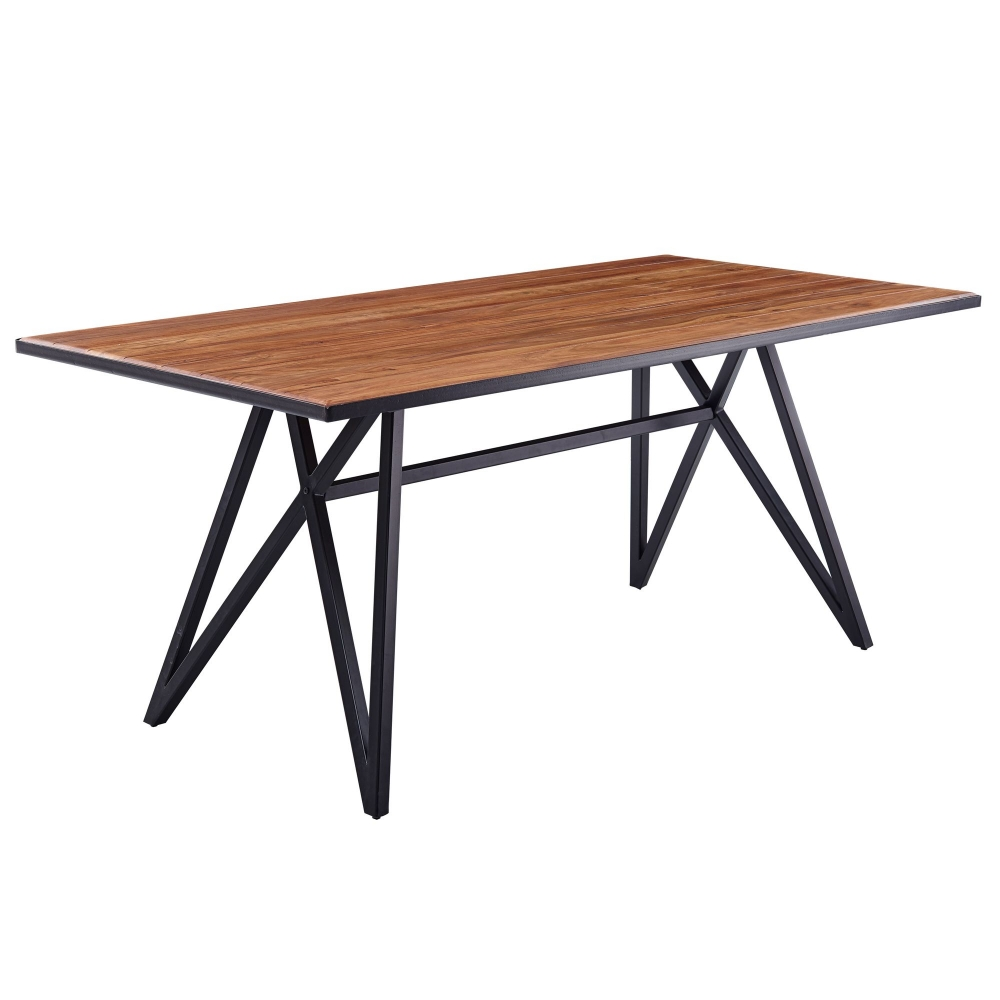 Jídelní stůl Rolo, 180 cm, masiv Sheesham