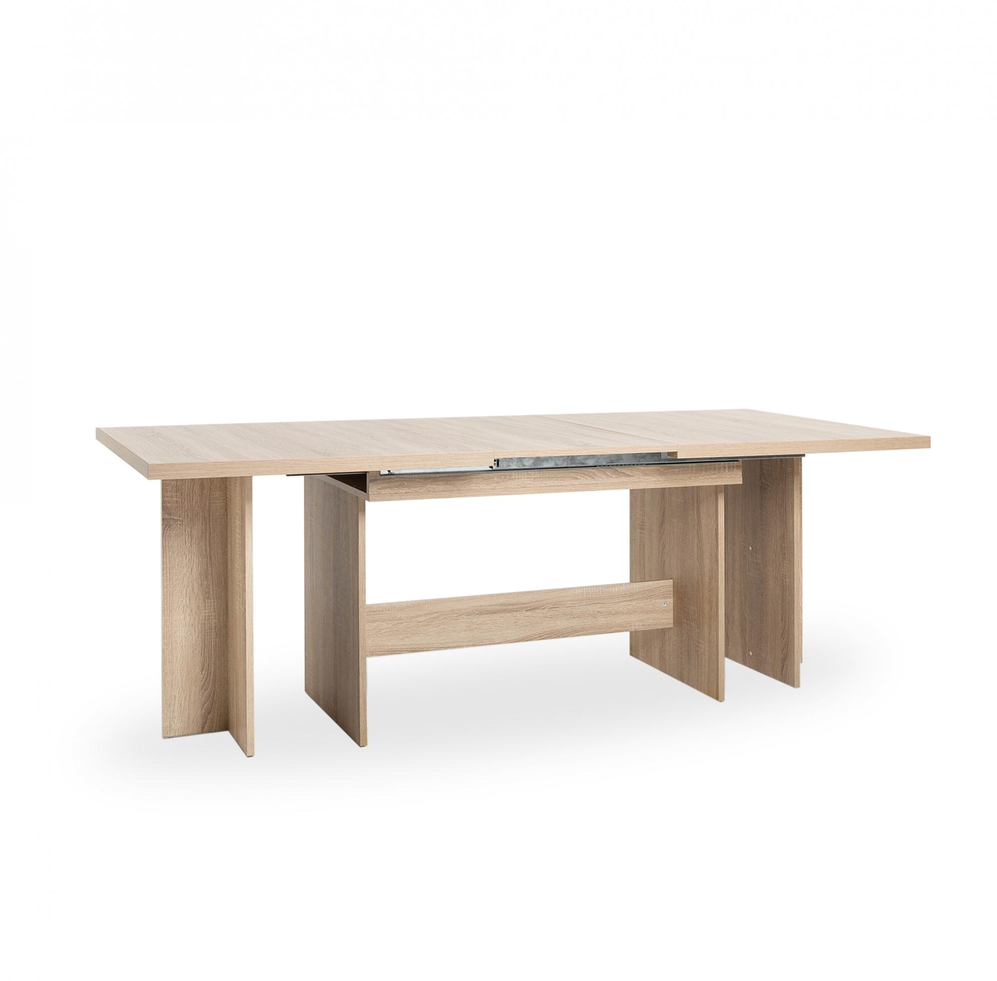 Jídelní stůl rozkládací Ancora, 310 cm, Sonoma dub
