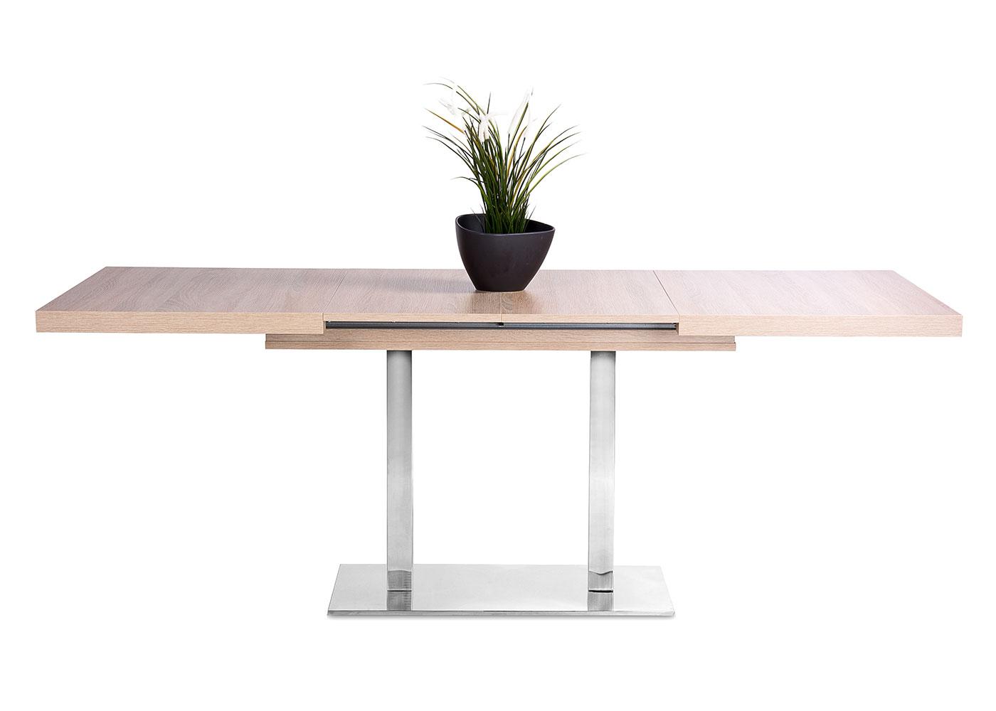 Jídelní stůl rozkládací August, 200 cm, dub