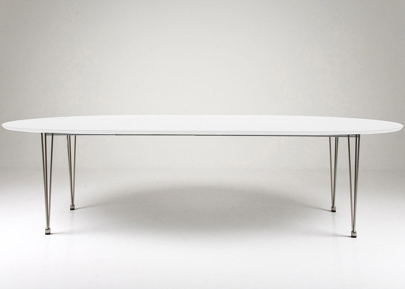 Jídelní stůl rozkládací Ballet, 270 cm, nohy chrom