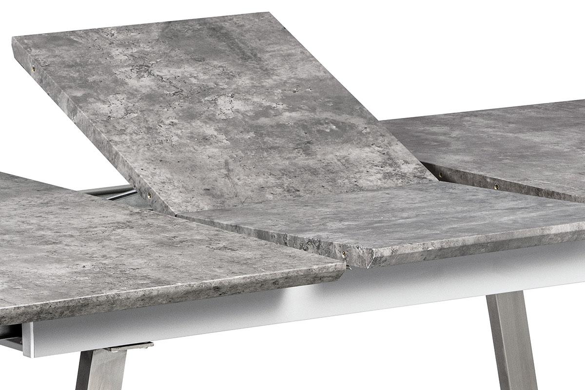 Jídelní stůl rozkládací Durham, 160 cm, šedá