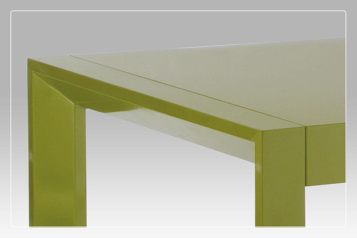 Jídelní stůl rozkládací Fontana, 210 cm, zelená