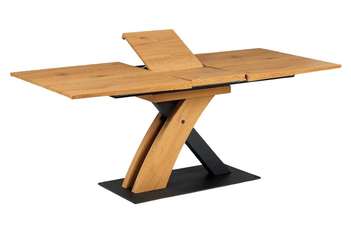 Jídelní stůl rozkládací Fort, 160 cm, dub