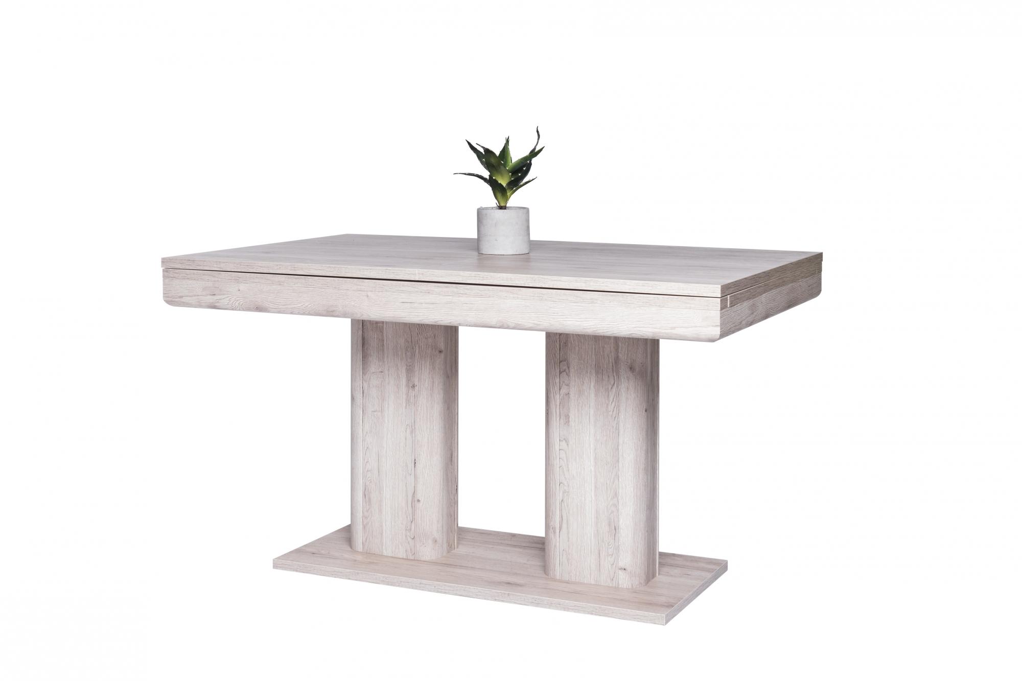 Jídelní stůl rozkládací Hayden, 220 cm, Sorrento dub
